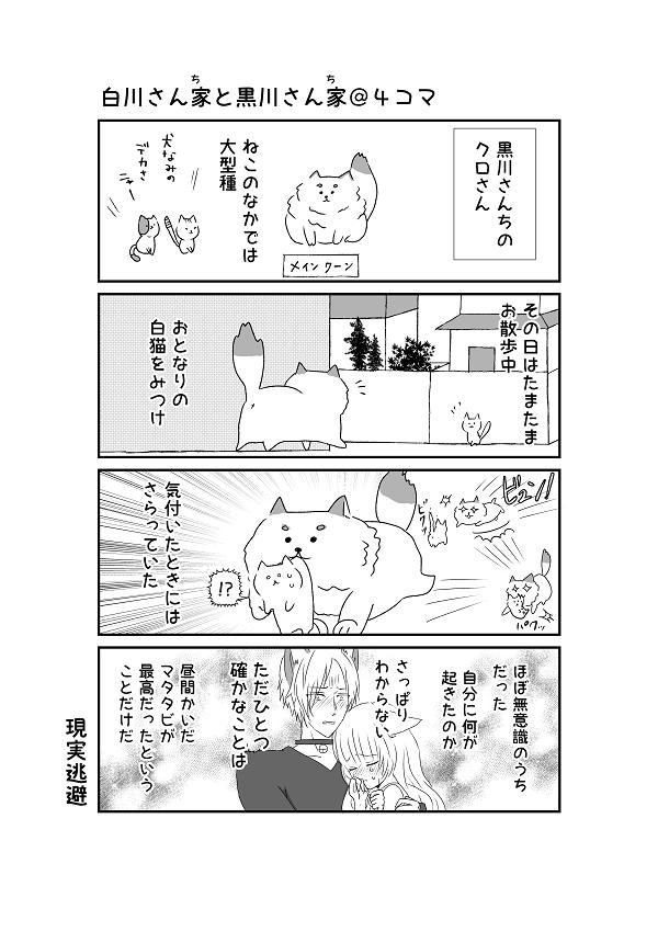 白川さんちと黒川さんち5