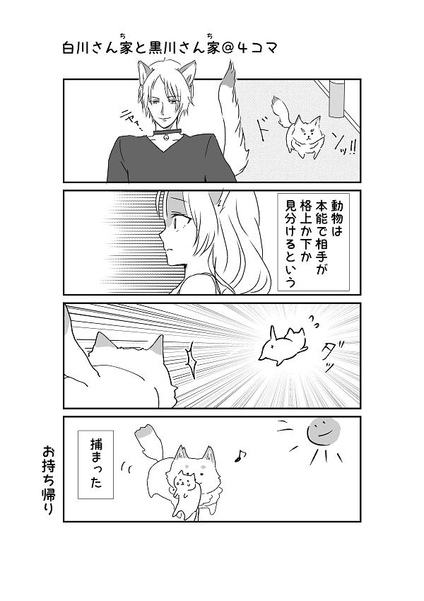 白川さんちと黒川さんち2