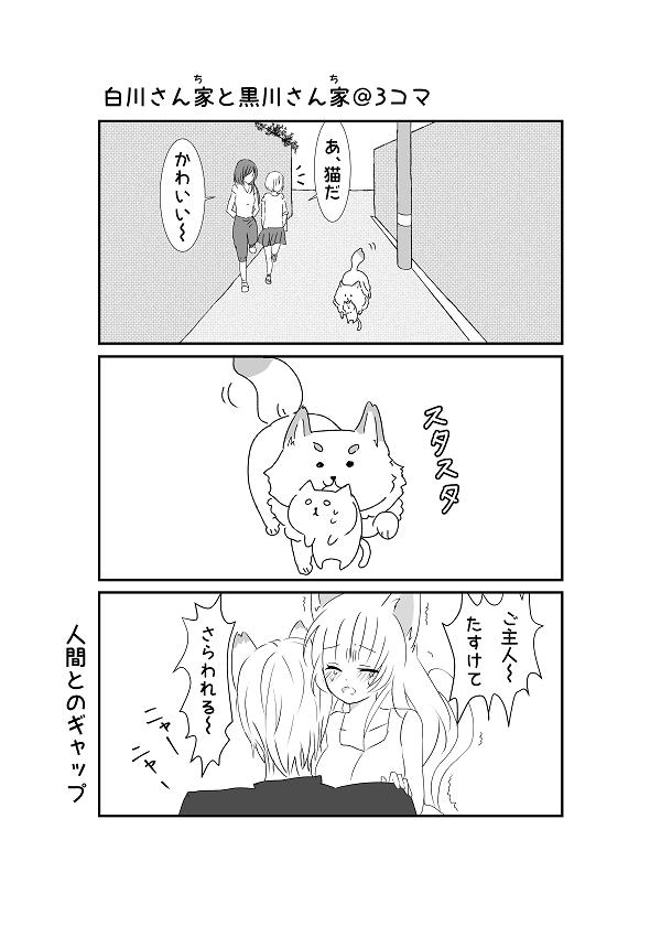 白川さんちと黒川さんち3